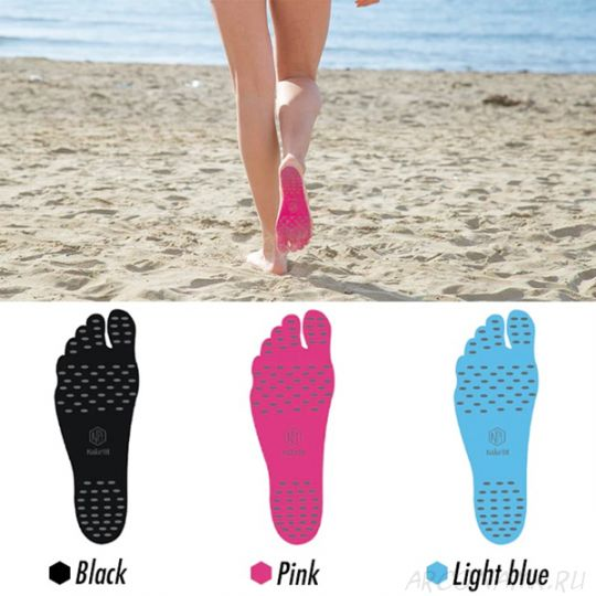 Наклейки на ступни ног Nakefit