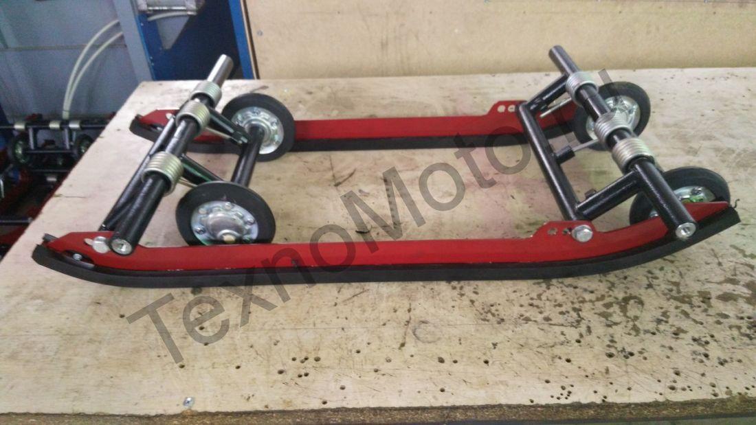 Комплект склизовой подвески для мотобуксировщиков БТС Стандарт