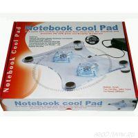 Охлаждающая подставка для ноутбука с подсветкой Notebook Cool Pad