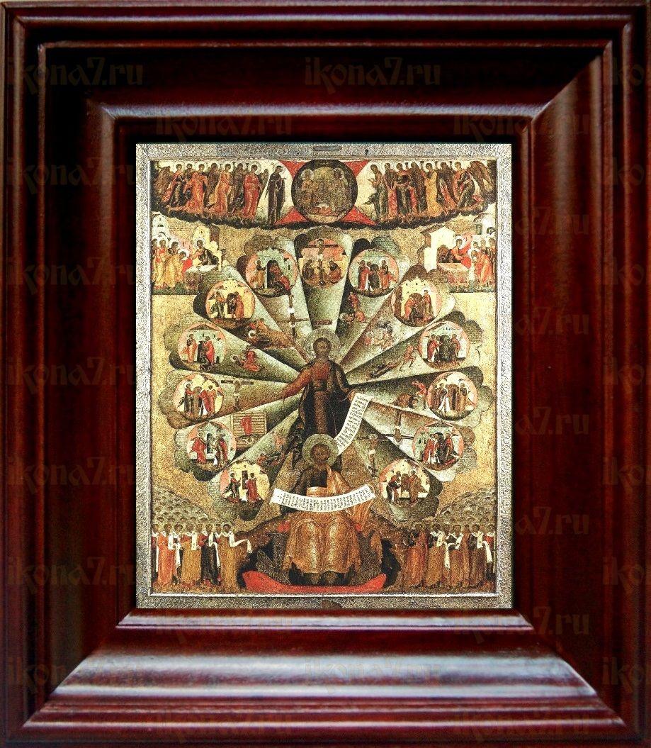 Апостольская проповедь (21х24), простой киот