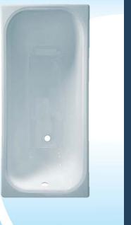 Ванна чугунная  Универсал ВЧ-1200 Каприз Сорт - 1 (высший)