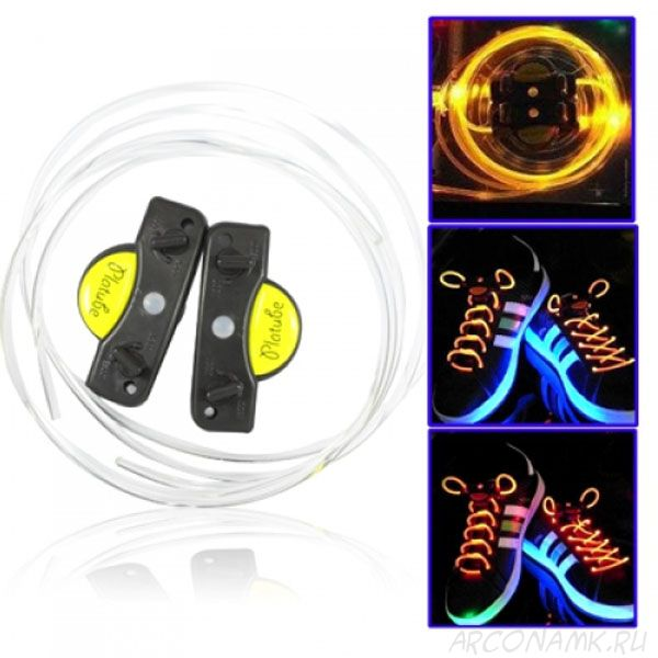 Шнурки с LED подсветкой