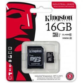 Карта памяти KINGSTON 16GB microSDHC Class10 до 90MB/s