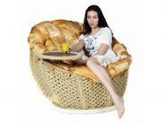 "Кресло сизалевое Leda ""Омега"" со столиком"