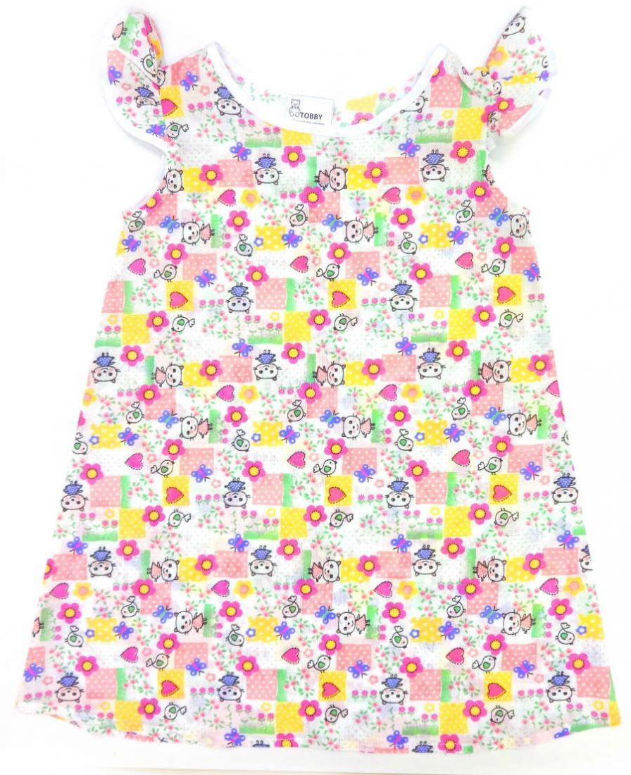 Сорочка для девочки Котята