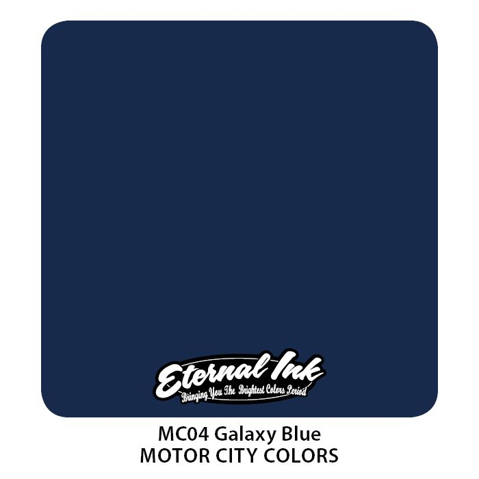 "Eternal ""Motor City"" Galaxy Blue"