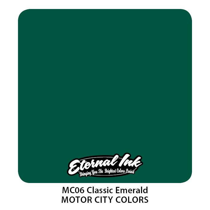 "Eternal ""Motor City"" Classic Emerald"