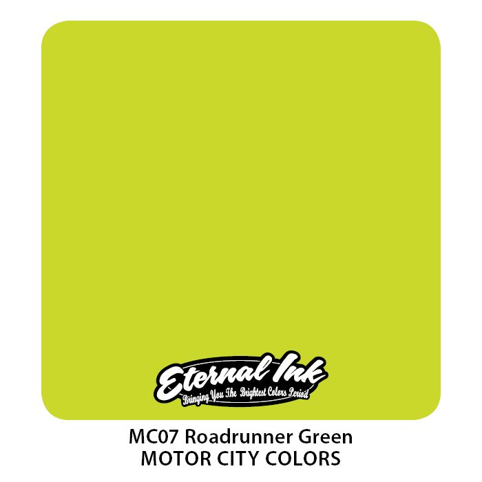 "Eternal ""Motor City"" Roadrunner Green"