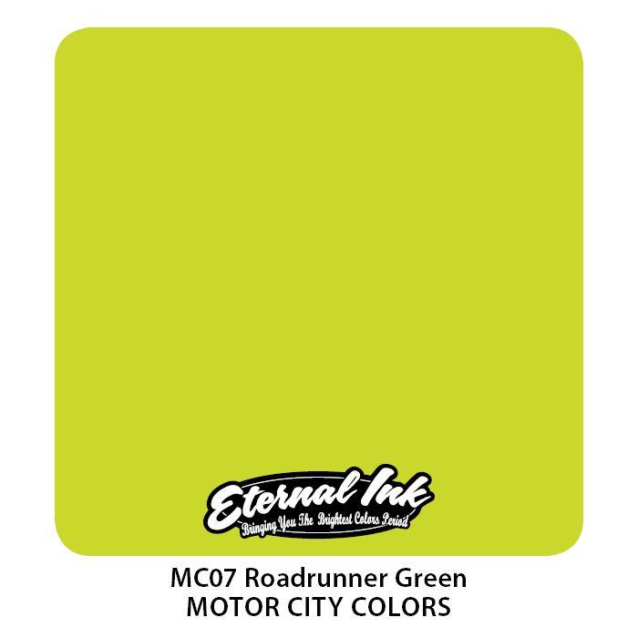 """Eternal """"Motor City"""" Roadrunner Green"""