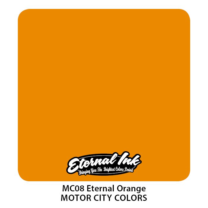 "Eternal ""Motor City"" Eternal Orange"