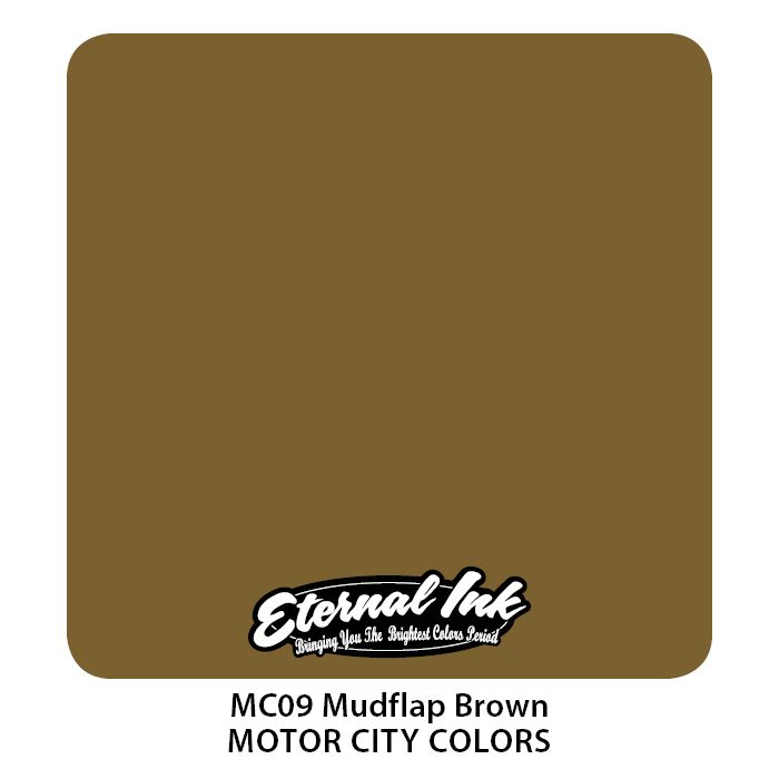 "Eternal ""Motor City"" Mudflap Brown"