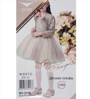 Гольфы белые, детские 29-31, 40D №FT3310