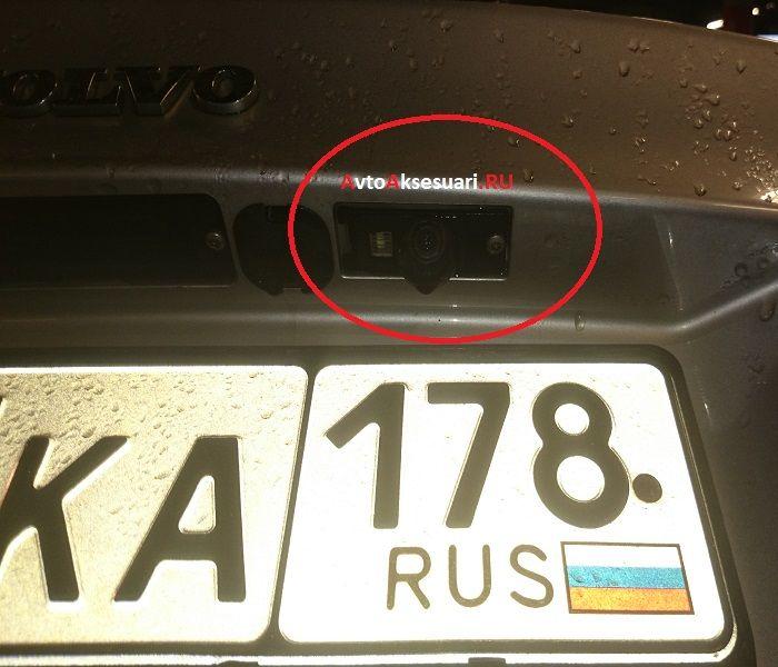 Камера заднего вида для Volvo S60 2000-2009