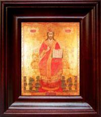 Царь Царем (21х24), простой киот
