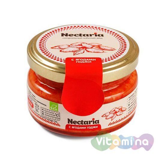 Взбитый мёд с ягодами годжи
