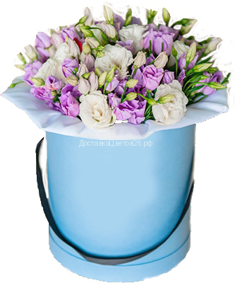 Шляпная коробка с французскими розами