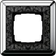 Gira ClassiX Art Хром/Черный Рамка 1-ая(0211682)