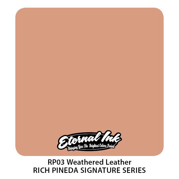 """Eternal """"Rich Pineda"""" Weathered Leather"""