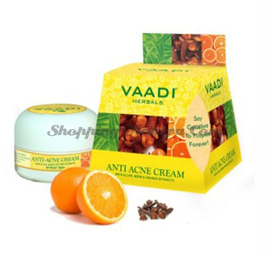 Крем против прыщей Гвоздика и Ниим Ваади | Vaadi Herbals Anti Acne Cream