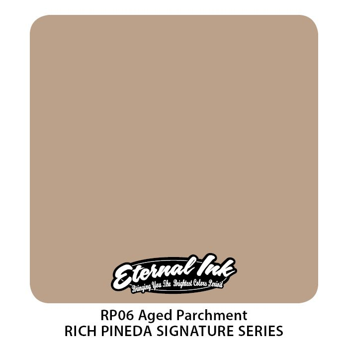 "Eternal ""Rich Pineda"" Aged Parchment"