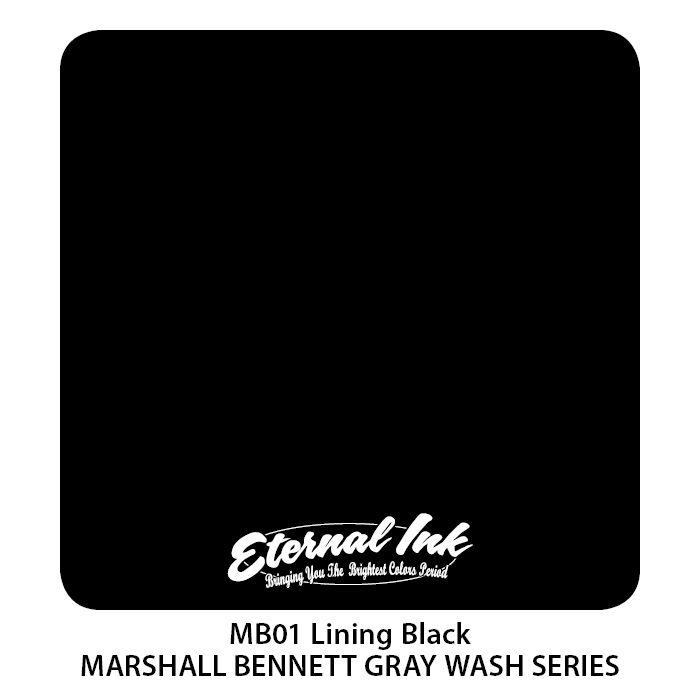 """Eternal """"Marshall Bennett"""" Lining Black"""