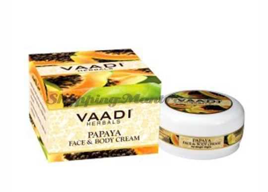 Крем для лица и тела Папайя Ваади   Vaadi Herbals Papaya Face and Body Cream