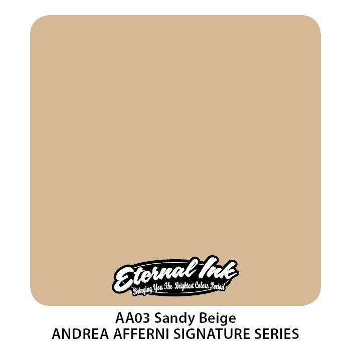 """Eternal """"Andrea Afferni"""" Sandy Beige"""