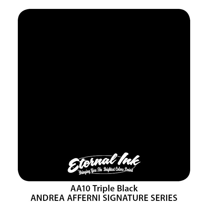 "Eternal ""Andrea Afferni"" Triple Black"
