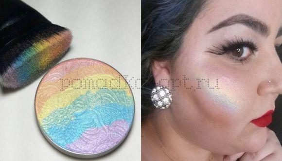 calans rainbow highlighter