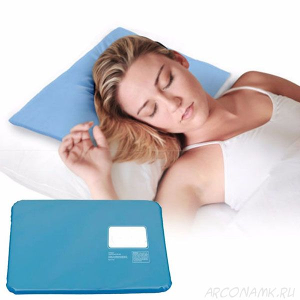 Охлаждающая лечебная подушка Сhillow