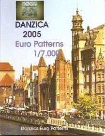 Набор монетовидных жетонов Данциг 2005 (8 жетонов)