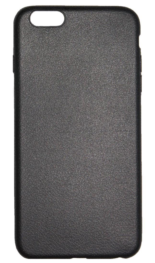 """Чехол-накладка силиконовый """"под кожу"""" для Apple iPhone 6Plus"""
