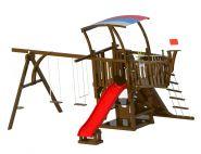 Детский деревянный городок для дачи Leda Кораблик