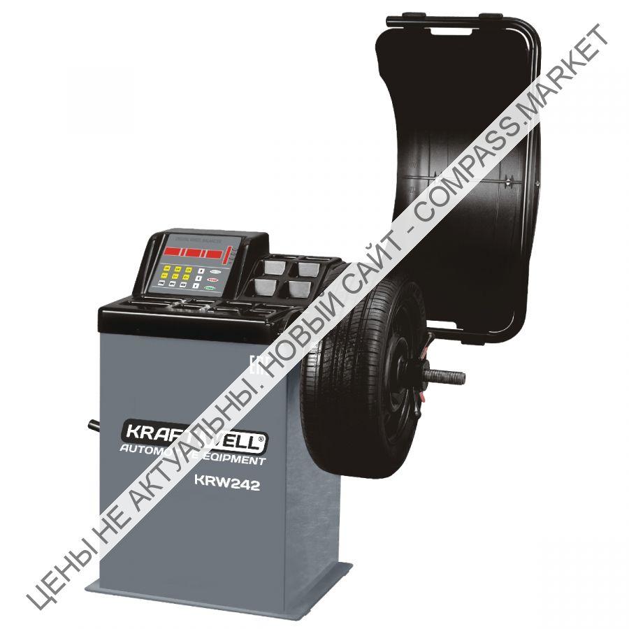 Балансировочный станок полуавтоматический с цифровым дисплеем