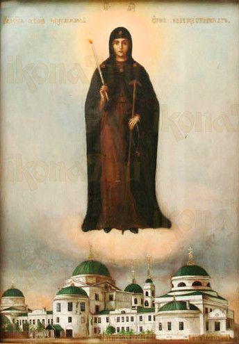Неугасимая Свеча (рукописная икона)