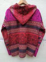 Яркая теплая непальская кофта. Женская, мужская. Интернет магазин