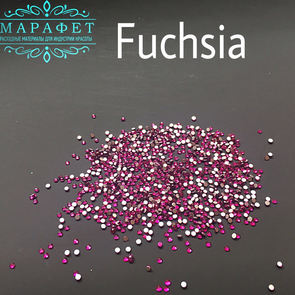Стразы SS3 стекло (Fuchsia) 1440шт.