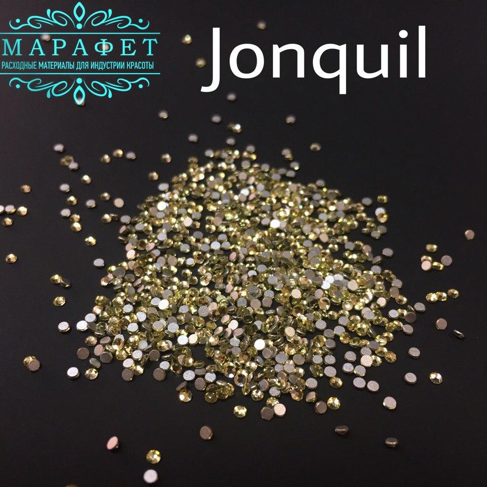 Стразы SS3 стекло (Jonquil) 1440шт.