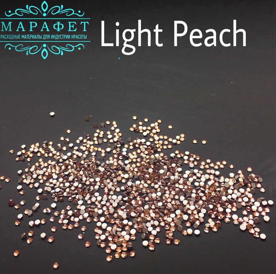 Стразы SS3 стекло (Light Peach) 1440шт.