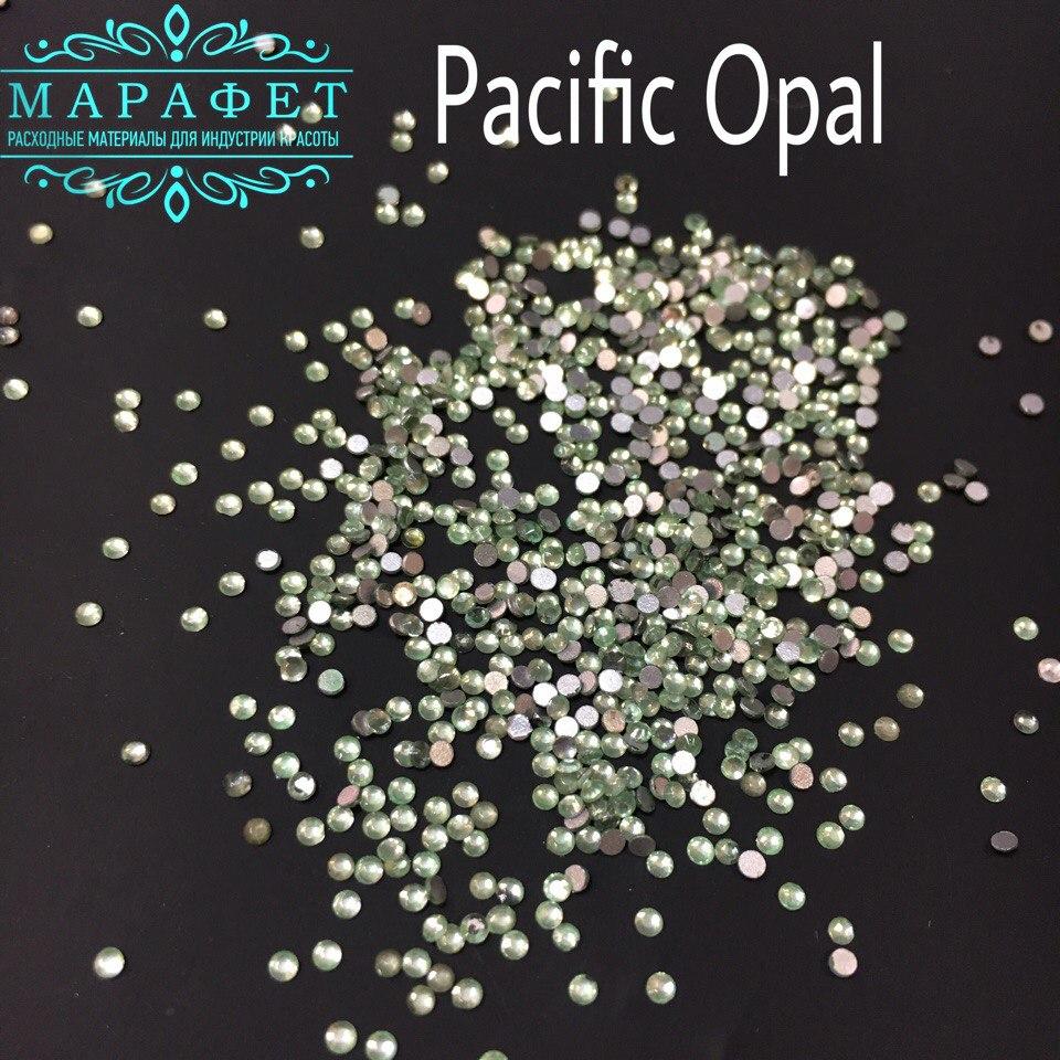 Стразы SS3 стекло (Pacific Opal) 1440шт.