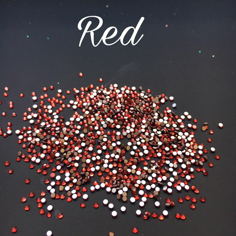Стразы SS3 стекло (Red) 1440шт.