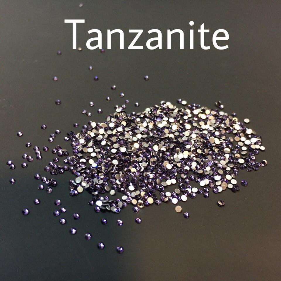 Стразы SS3 стекло (Tanzanite) 1440шт.