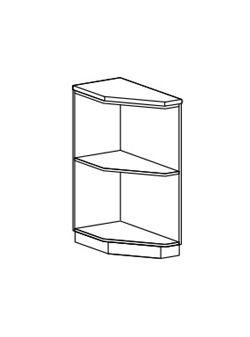 ШНПУ 300 левый/правый нижняя секция Айвори (Модена)