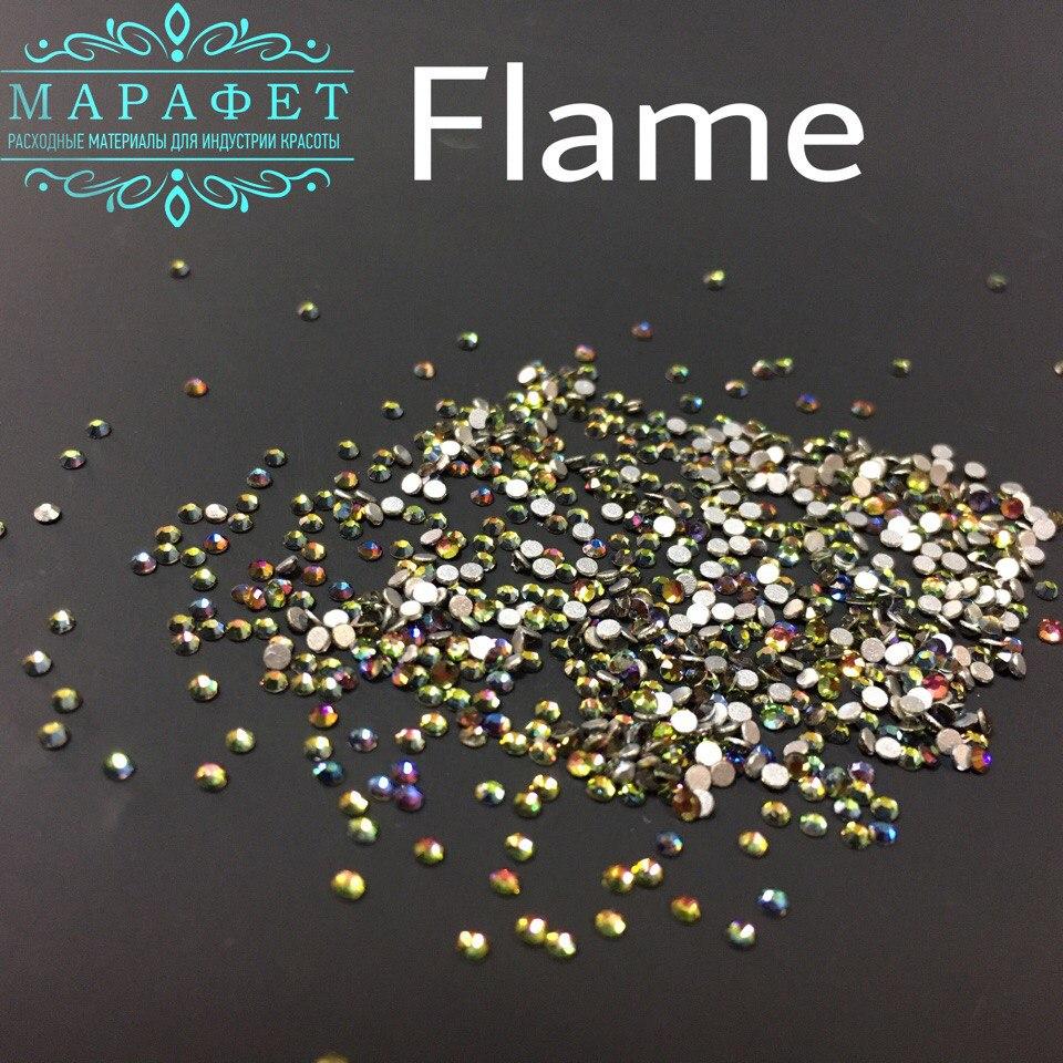 Стразы SS4 стекло (Flame) 1440шт.