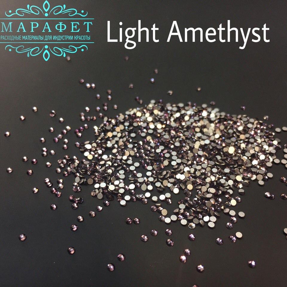 Стразы SS4 стекло (Light Amethyst) 1440шт.