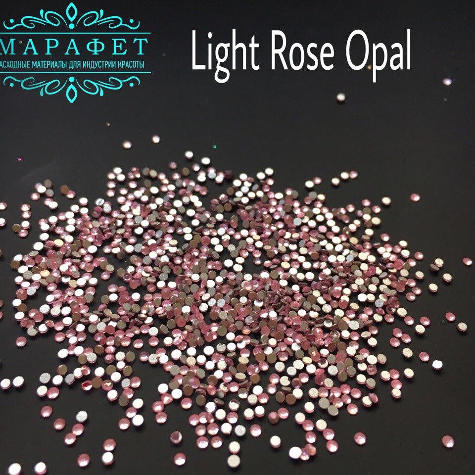 Стразы SS4 стекло (Light Rose Opal) 1440шт.