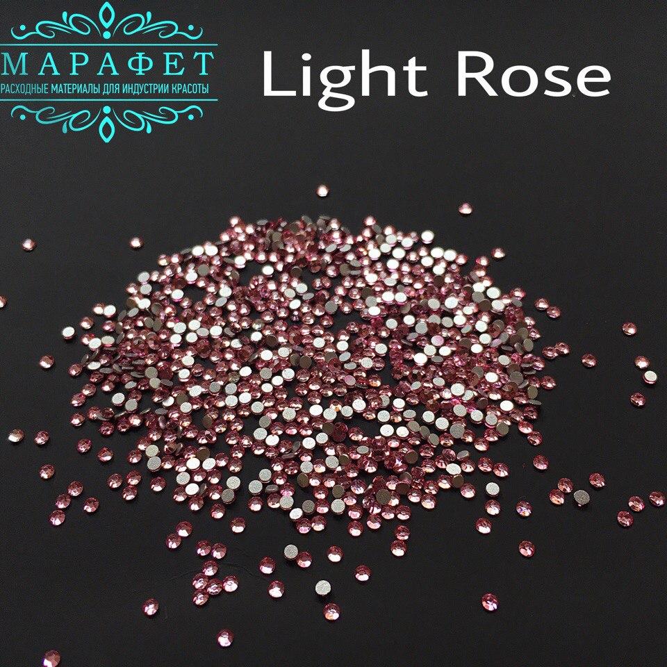 Стразы SS4 стекло (Light Rose) 1440шт.