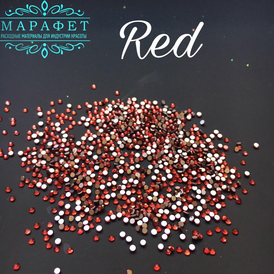 Стразы SS4 стекло (Red) 1440шт.