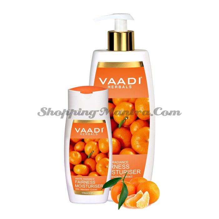 Осветляющий увлажнитель для лица и тела Мандарин Ваади   Vaadi Fairness Moisturiser With Mandarin