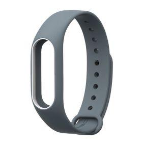 Ремешок для браслета Xiaomi Mi Band 3 серый